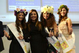 Camilla Nata con le Miss
