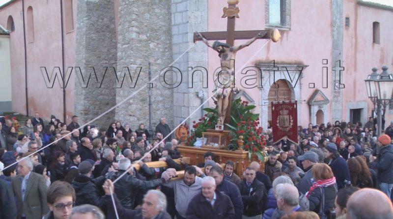 FOTO ONDATV PROCESSIONE SAN FRATELLO VENERDI SANTO
