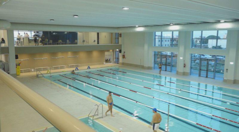 palasport mangano piscina